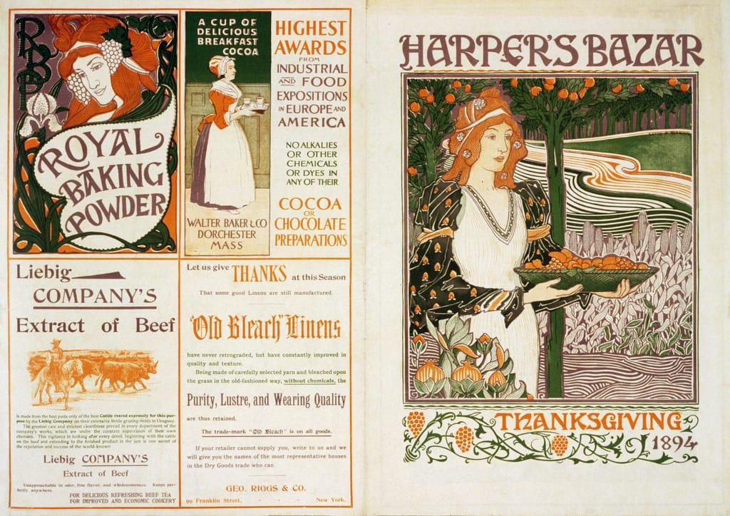 Harper's Magazine cover 1894