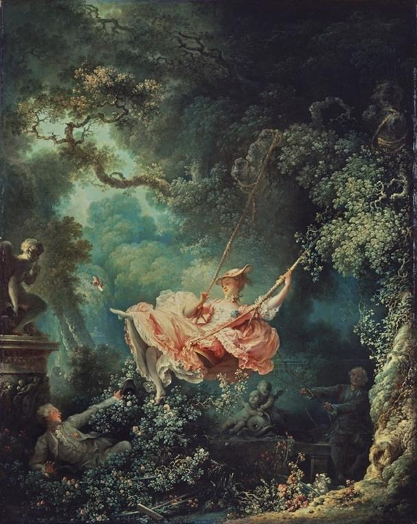 Figure The Swing, Jean-Honoré Fragonard, 1767 © The Wallace Collection, London
