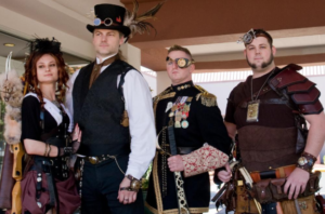 Steampunk Fashion Presentation