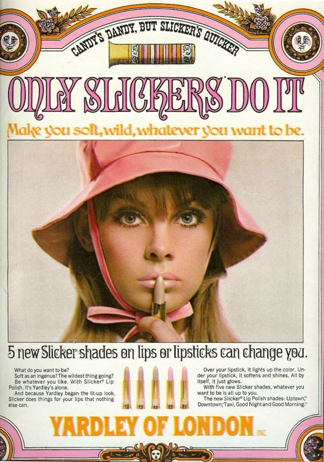 Yardley Lip Slickers from the 1960s